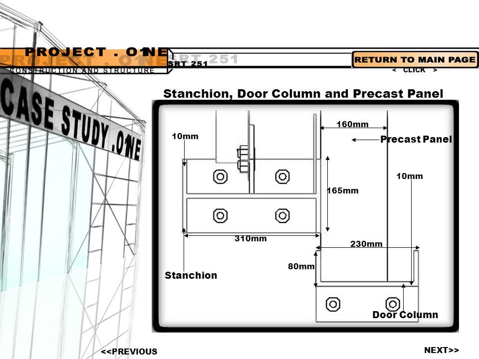 Stanchion, Door Column and Precast Panel