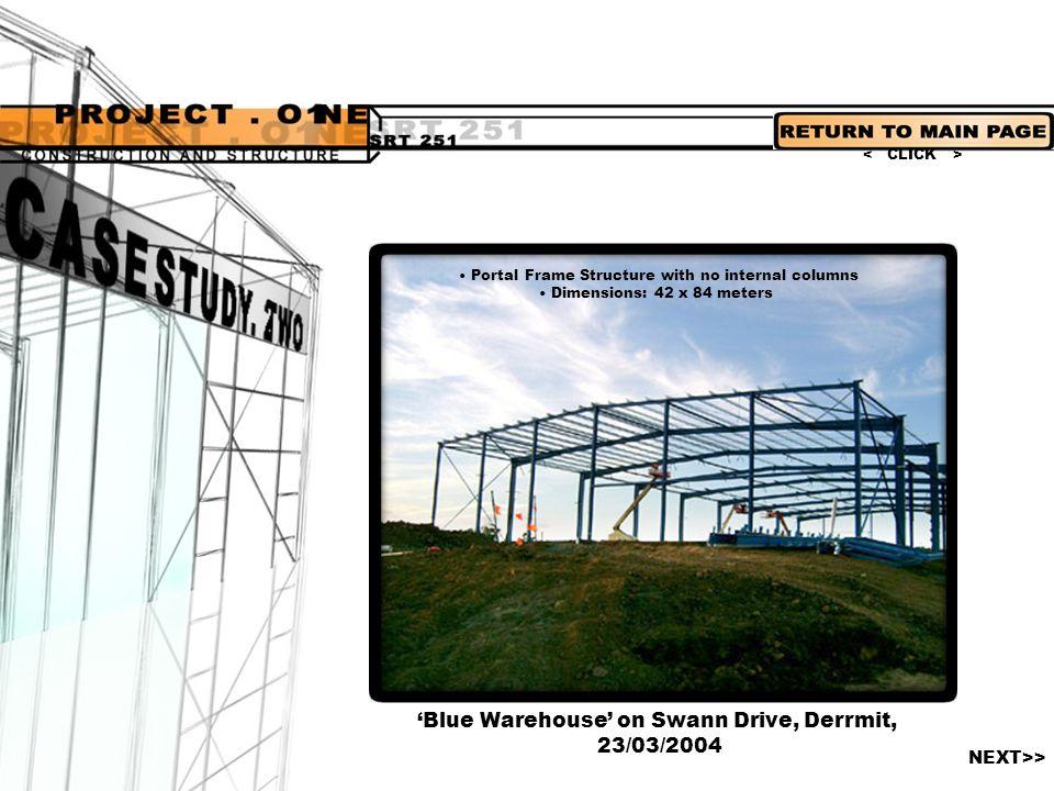 'Blue Warehouse' on Swann Drive, Derrmit, 23/03/2004