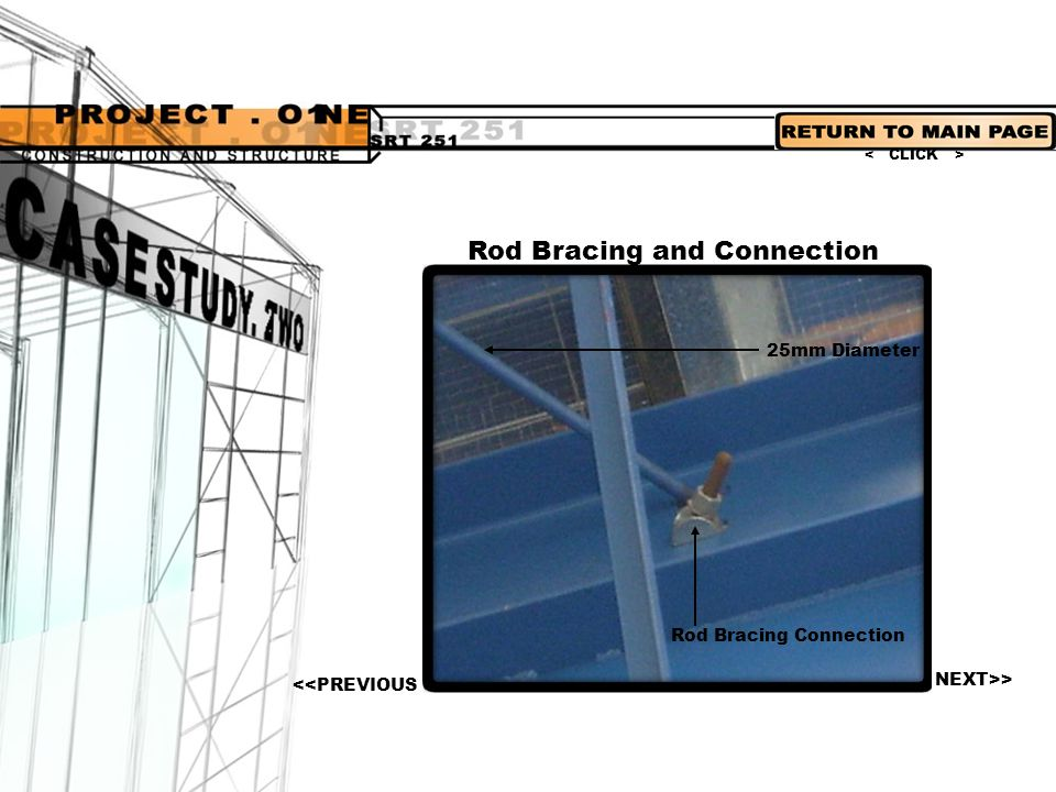 Rod Bracing and Connection