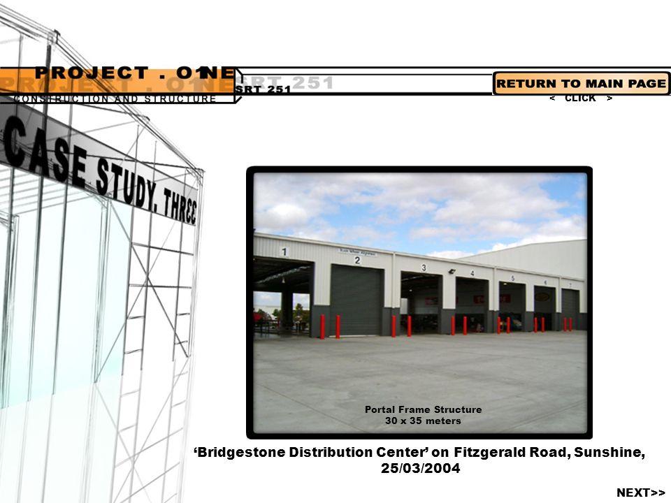'Bridgestone Distribution Center' on Fitzgerald Road, Sunshine,