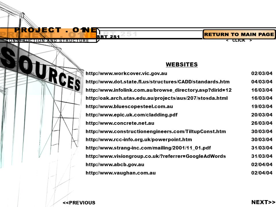 WEBSITES NEXT>> http://www.workcover.vic.gov.au 02/03/04