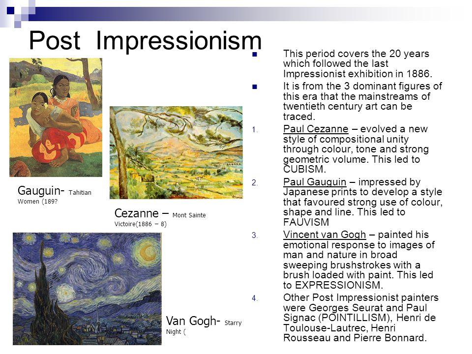 Post Impressionism Gauguin- Tahitian Women (189