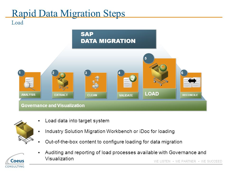 Rapid Data Migration Steps Load