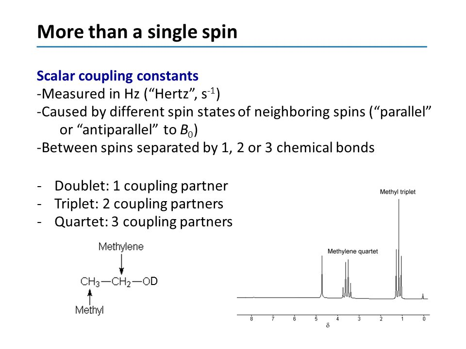 More than a single spin Scalar coupling constants