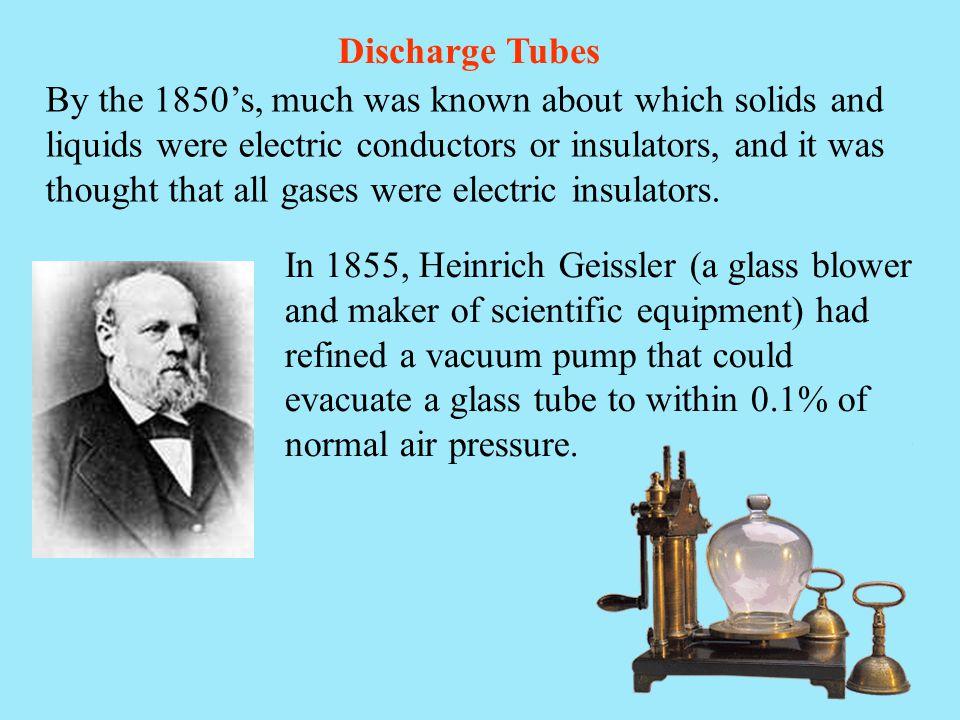 Discharge Tubes