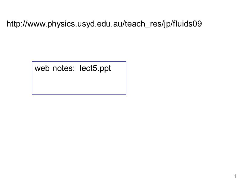 http://www.physics.usyd.edu.au/teach_res/jp/fluids09 web notes: lect5.ppt
