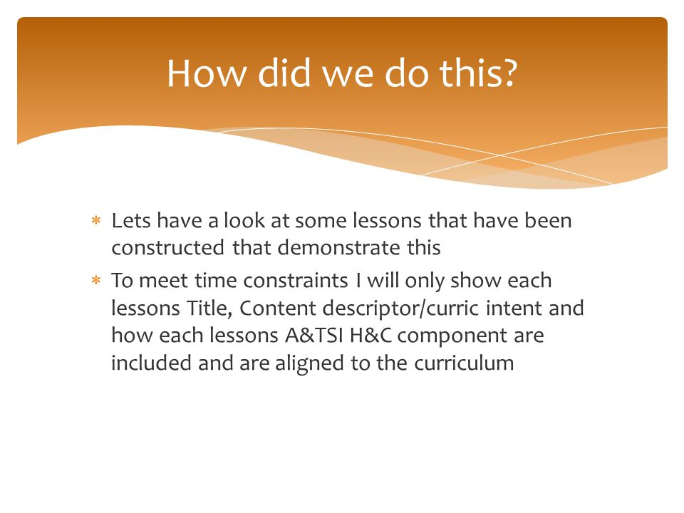 How did we do this Lets have a look at some lessons that have been constructed that demonstrate this.