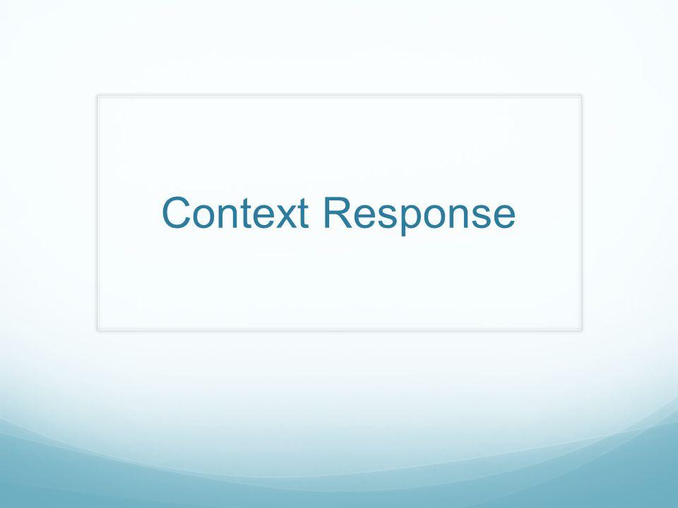 Context Response