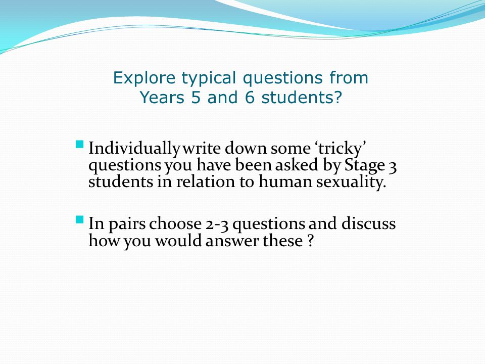 Explore typical questions from Years 5 and 6 students