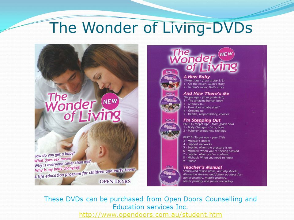 The Wonder of Living-DVDs