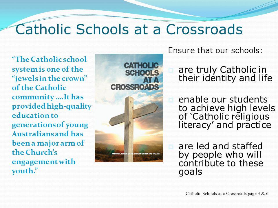 Catholic Schools at a Crossroads