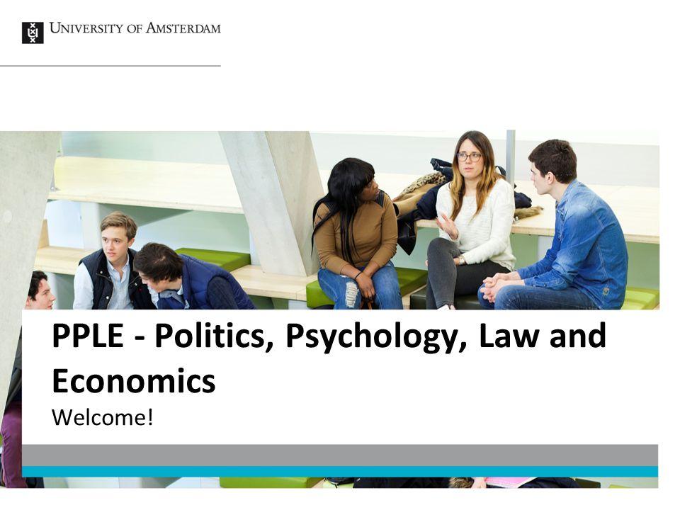 PPLE - Politics, Psychology, Law and Economics
