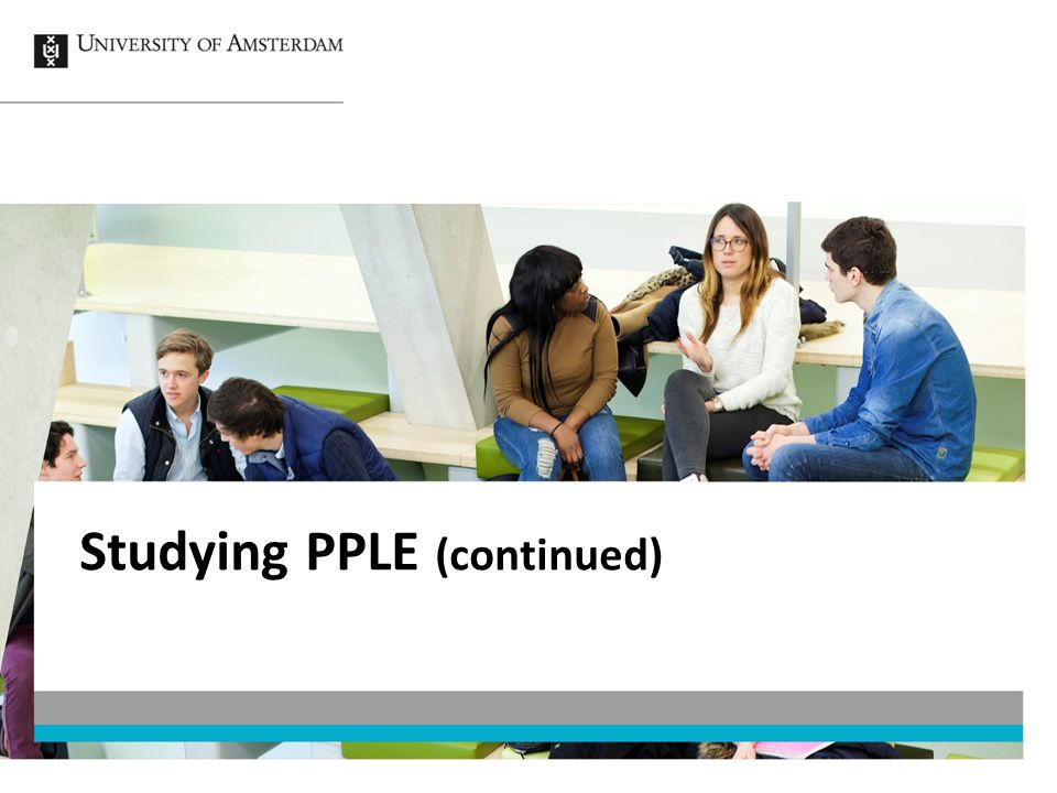 Studying PPLE (continued)