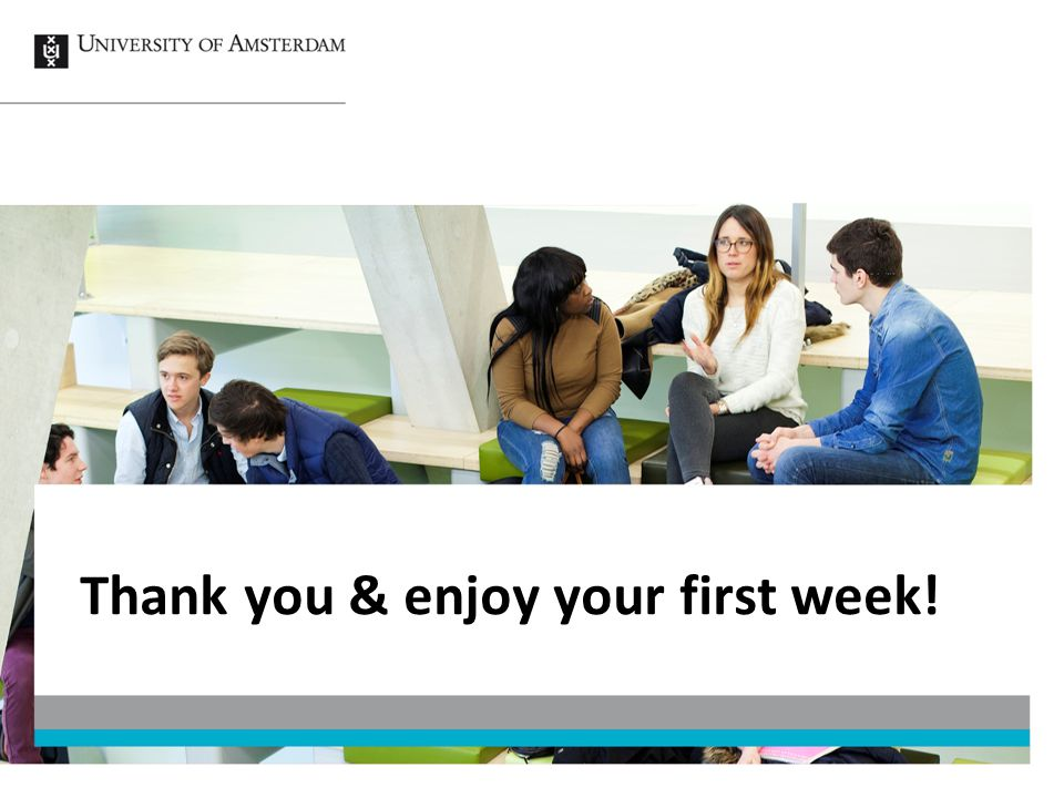 Thank you & enjoy your first week!