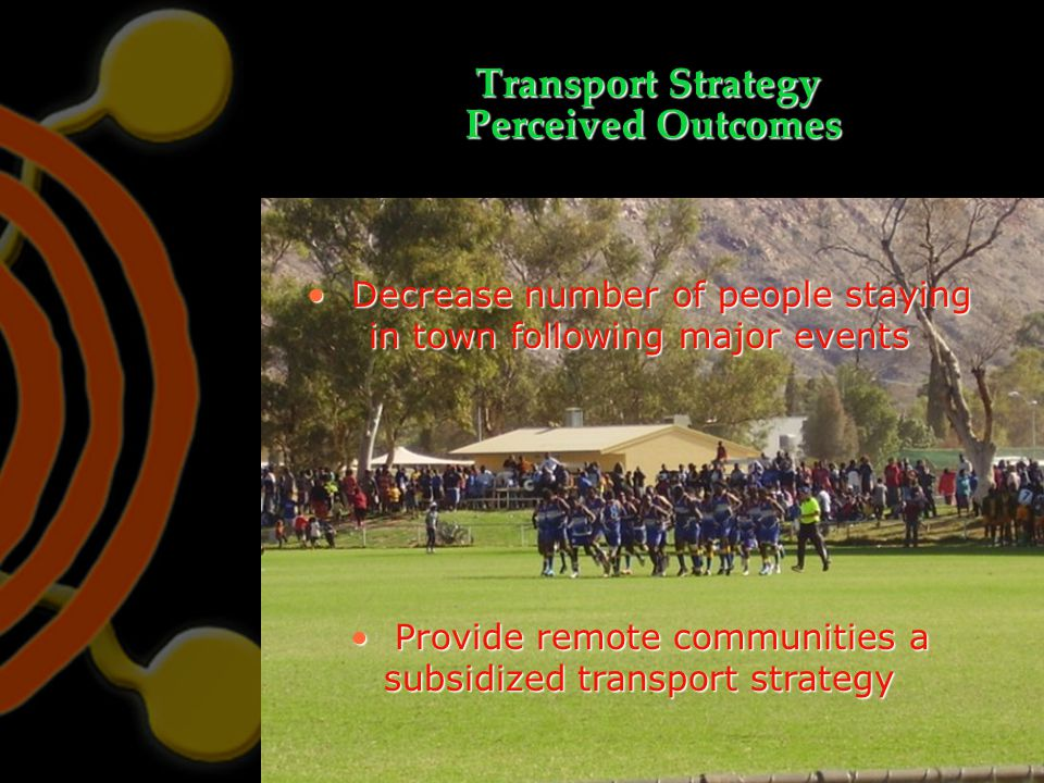 Transport Strategy Perceived Outcomes