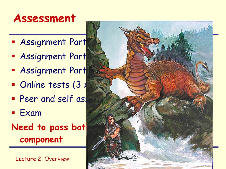 Assessment Assignment Part 1 (Images & Audio) 10%