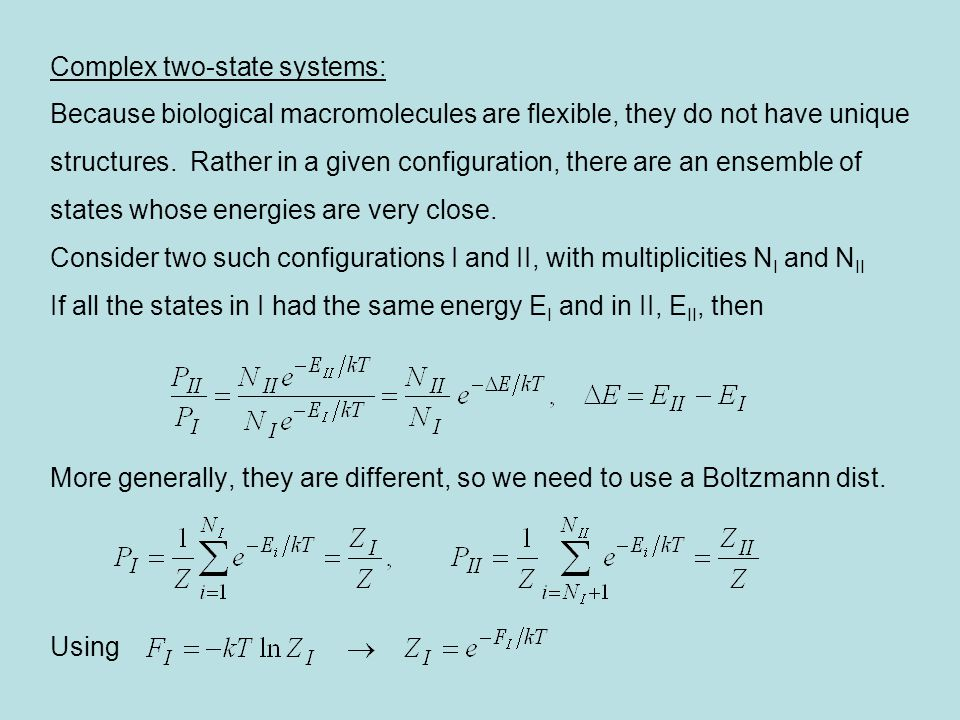 Complex two-state systems: