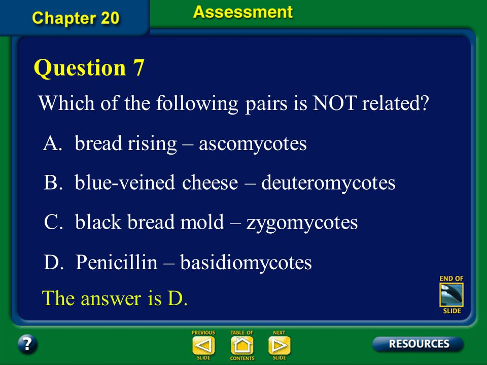 Question 7 Which of the following pairs is NOT related