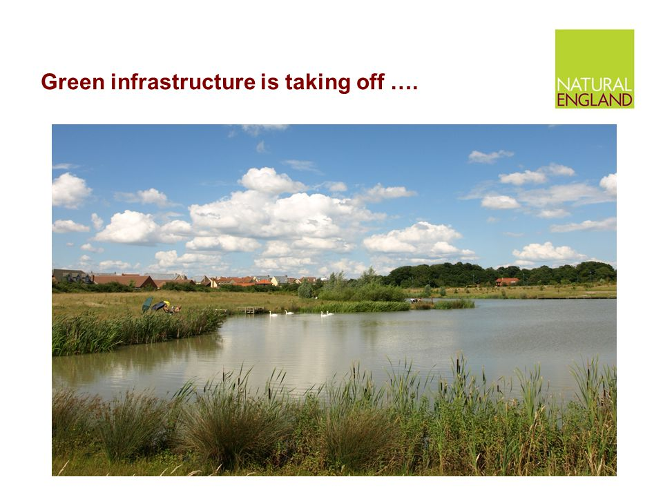 Green infrastructure is taking off ….