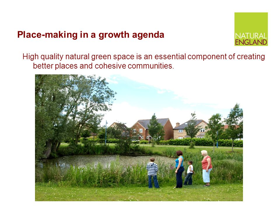 Place-making in a growth agenda
