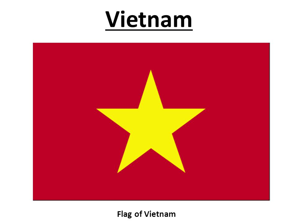 Vietnam Flag of Vietnam