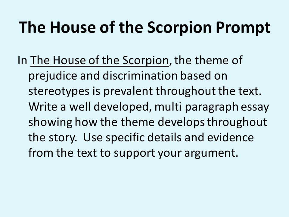 house of the scorpion essay quotes and topics essay
