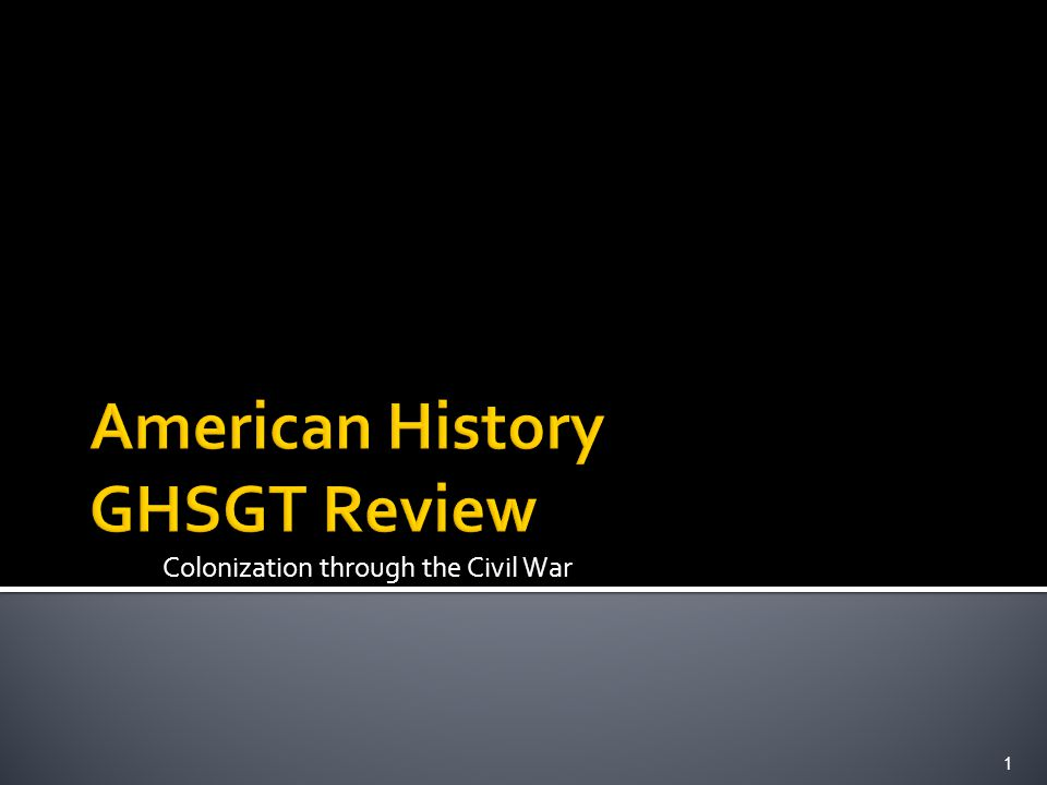cst us history review