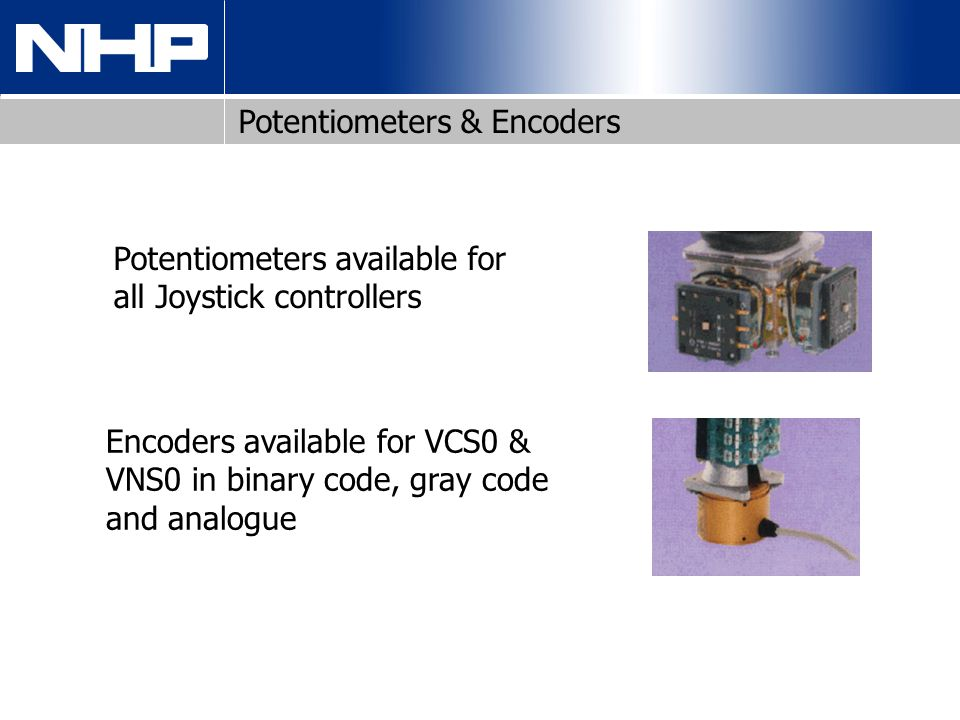 Potentiometers & Encoders