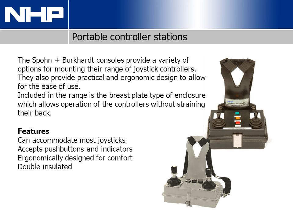 Portable controller stations
