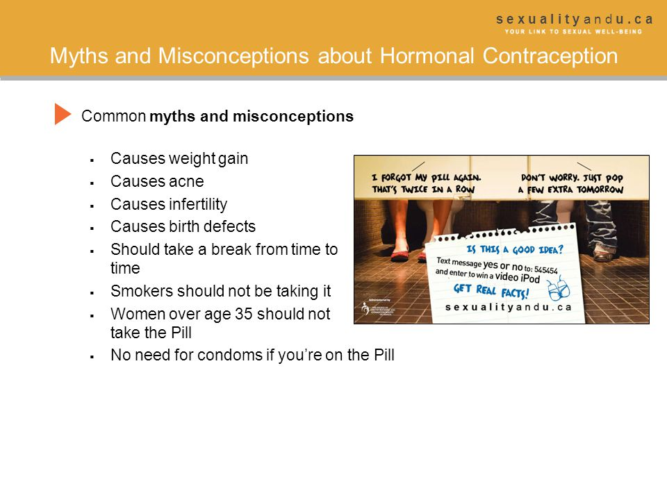 Myths and Misconceptions about Hormonal Contraception
