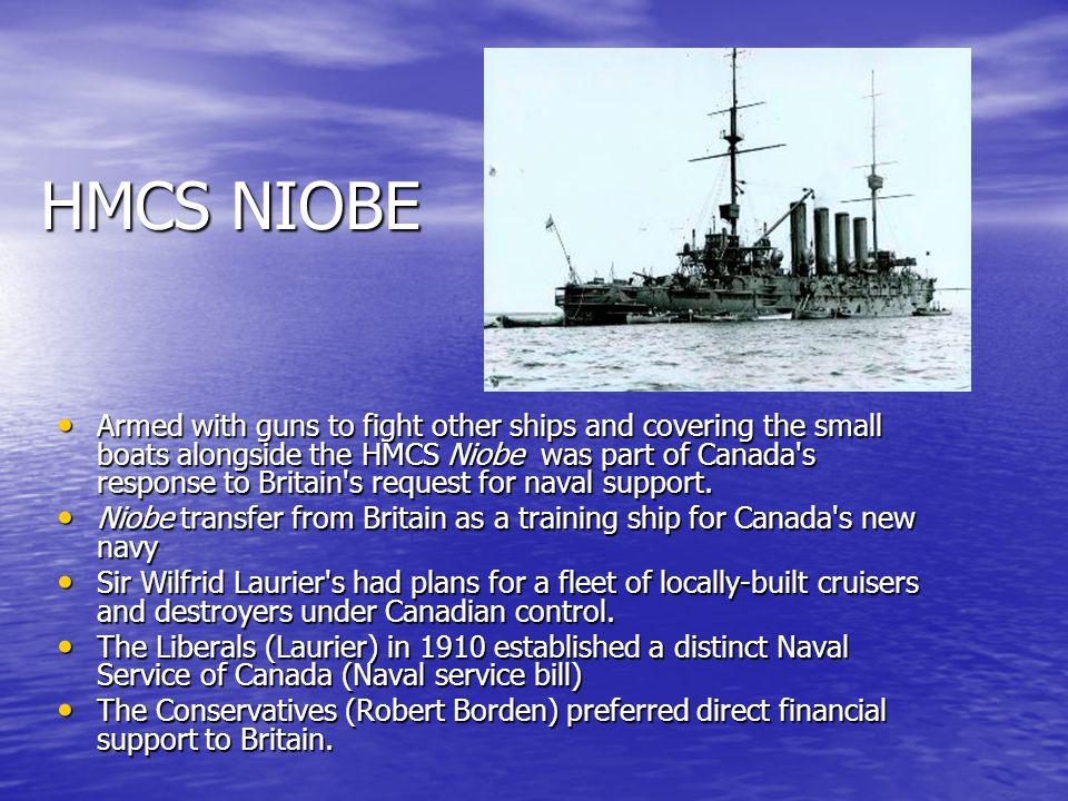 HMCS NIOBE