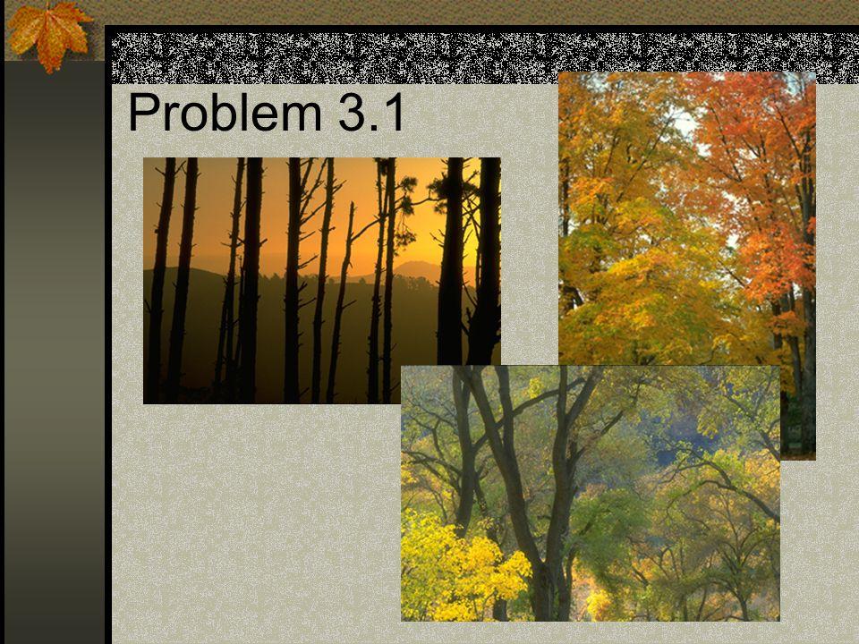 Problem 3.1