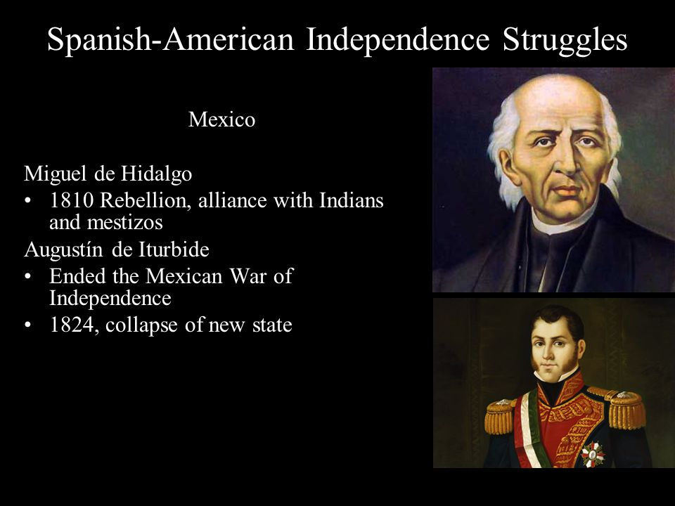 Spanish-American Independence Struggles