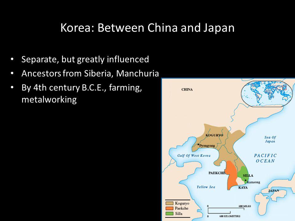 Korea: Between China and Japan