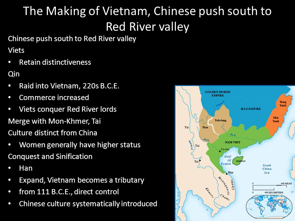 The Making of Vietnam, Chinese push south to Red River valley