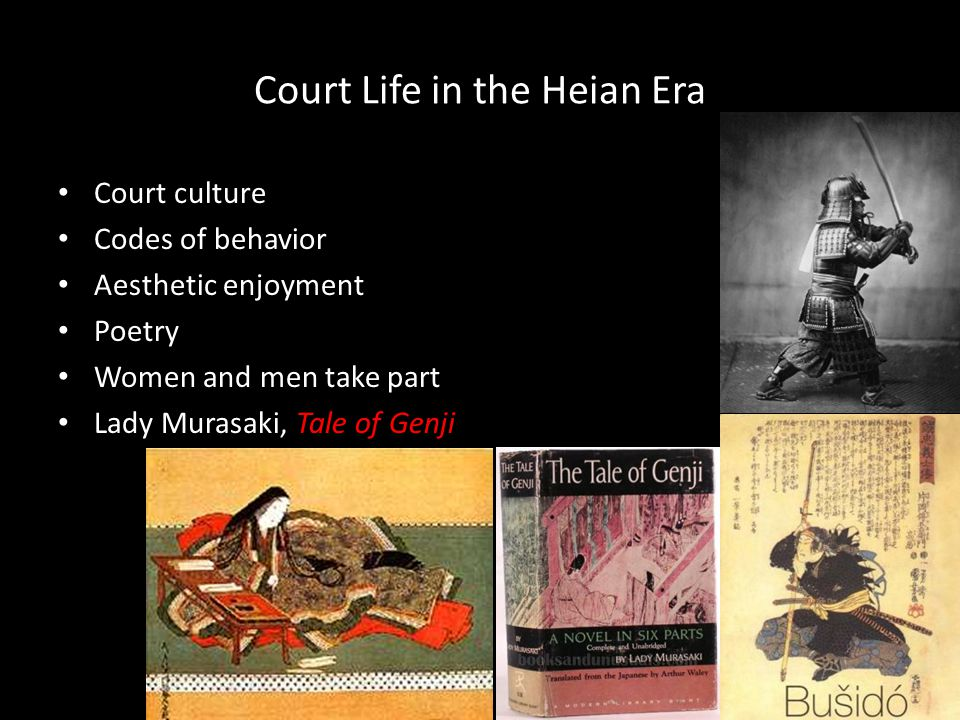 Court Life in the Heian Era
