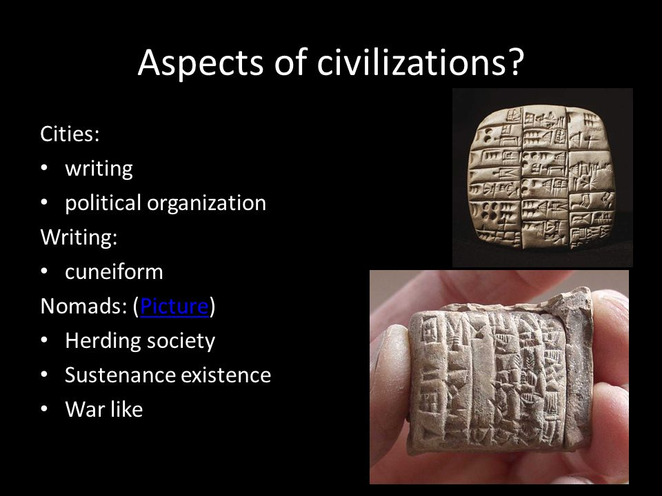 Aspects of civilizations