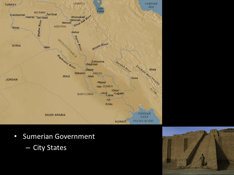 Sumerian Government City States