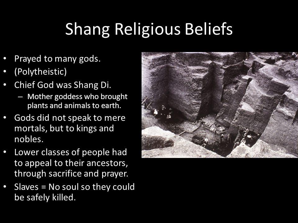 Shang Religious Beliefs