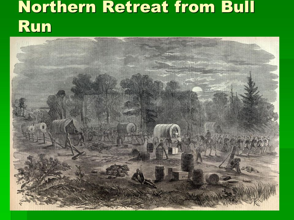 Northern Retreat from Bull Run