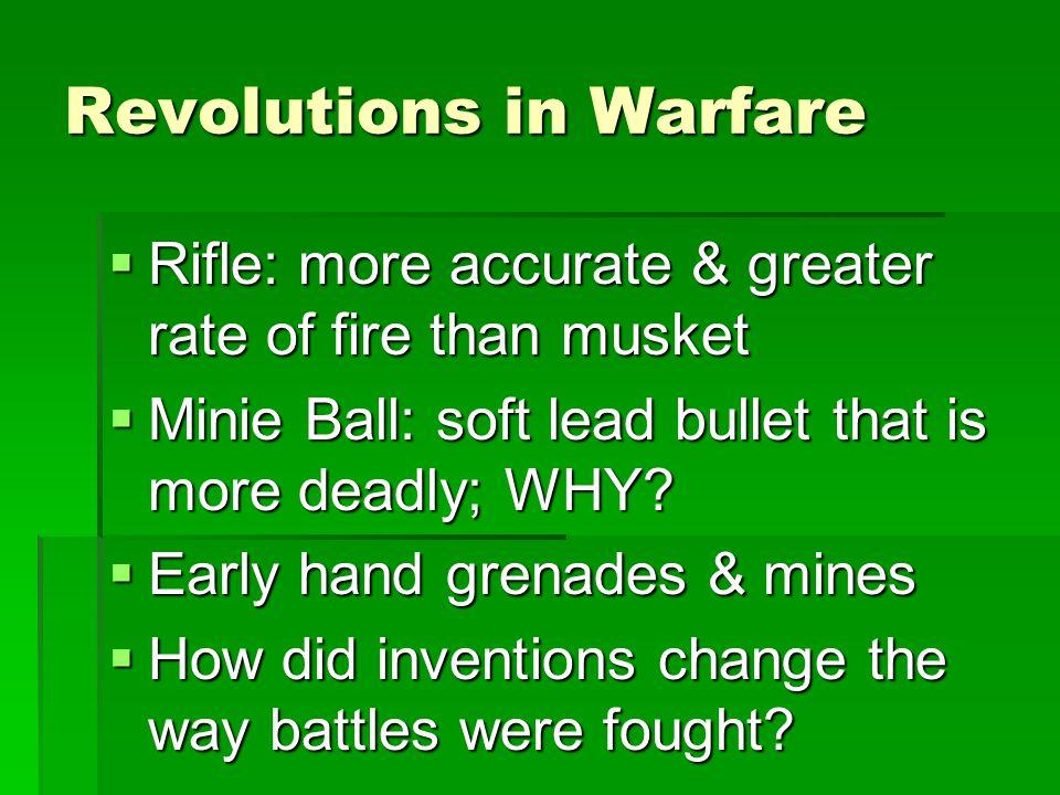 Revolutions in Warfare