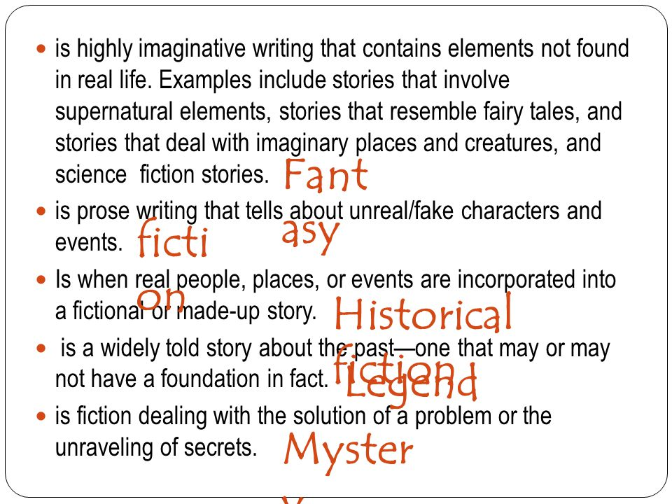 Fantasy fiction Historical fiction Legend Mystery