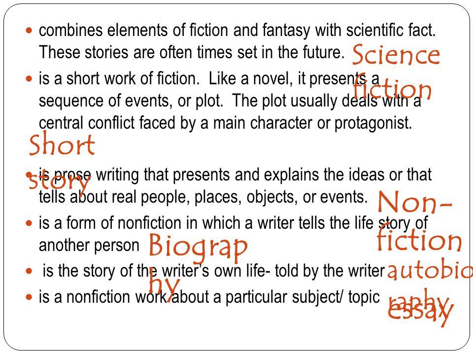 analysis of fiction essay