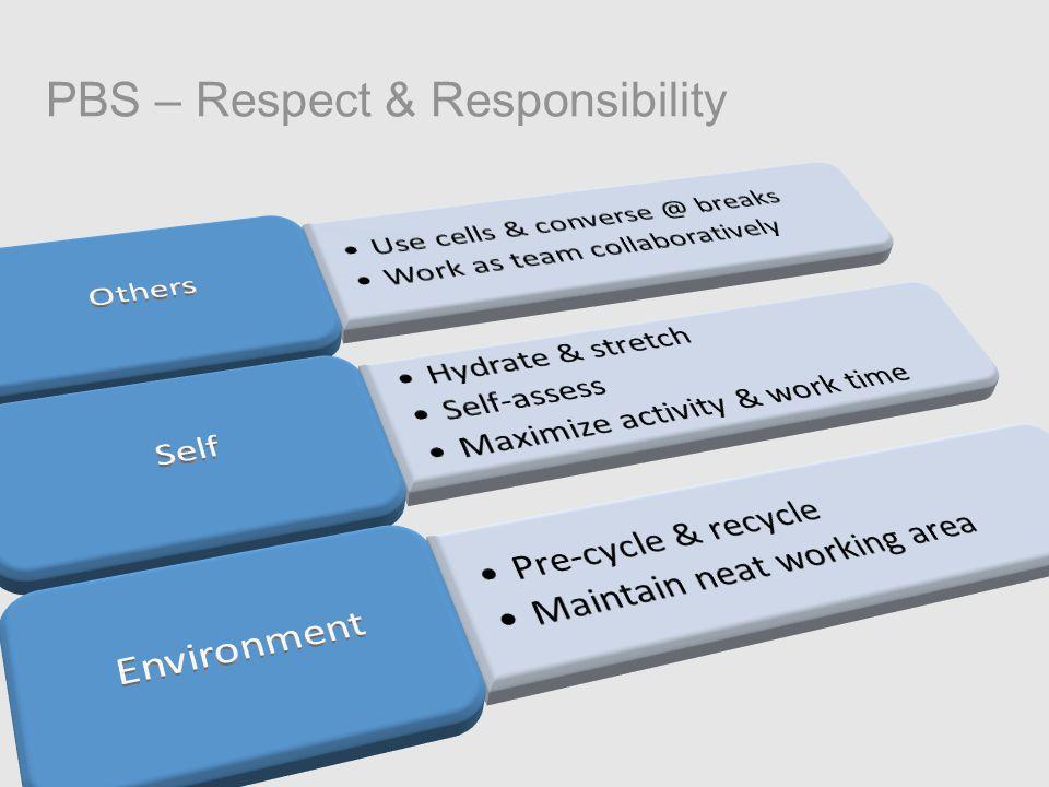 PBS – Respect & Responsibility
