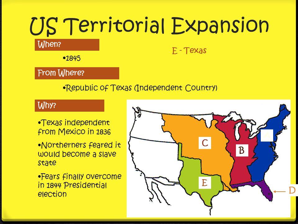 US Territorial Expansion