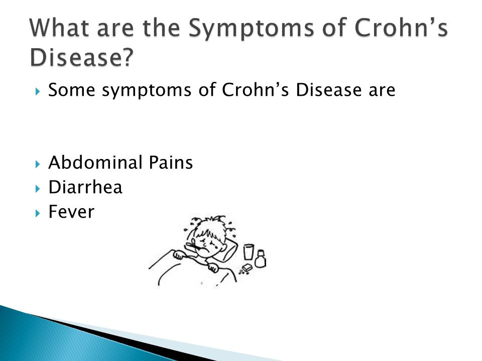 What are the Symptoms of Crohn's Disease