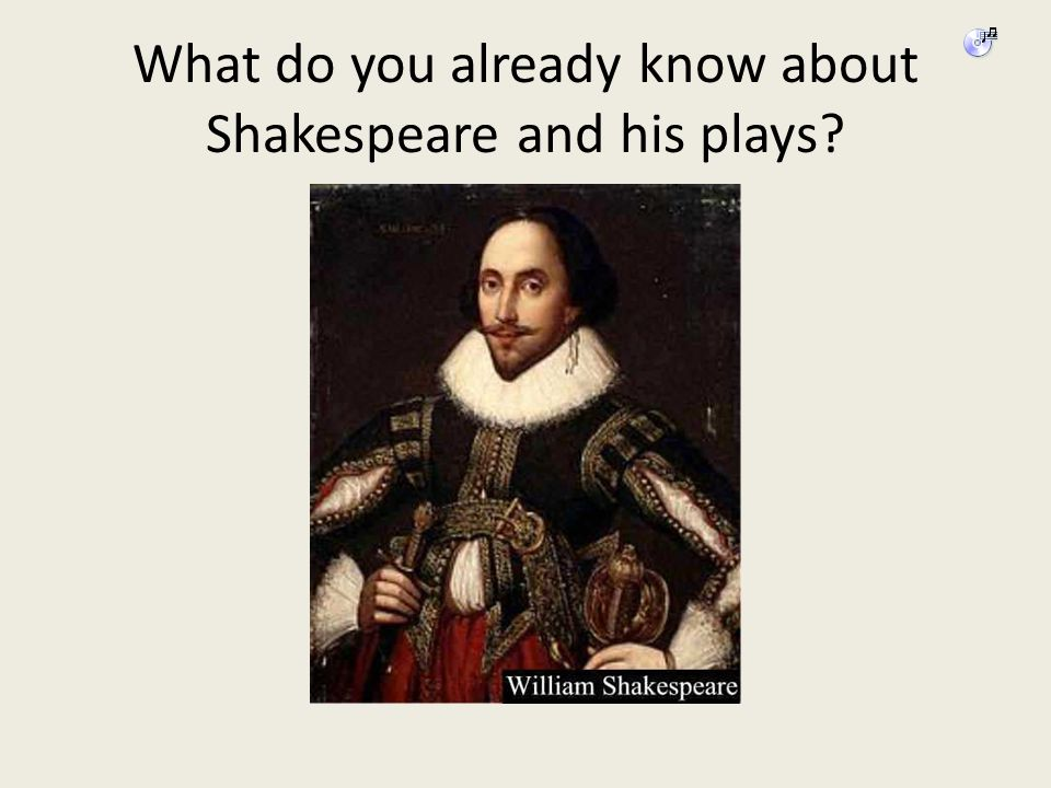 What do you already know about Shakespeare and his plays