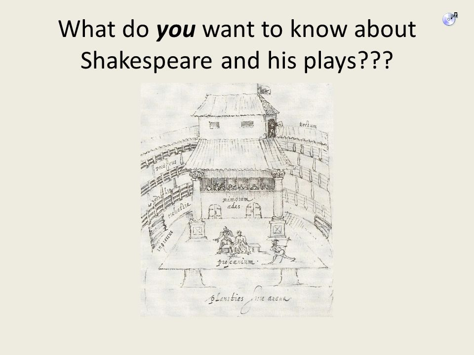 What do you want to know about Shakespeare and his plays