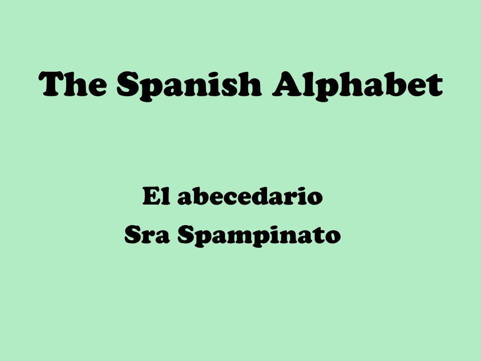 El abecedario Sra Spampinato