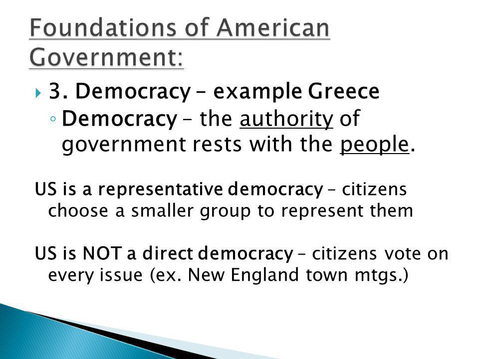 Foundations of American Government:
